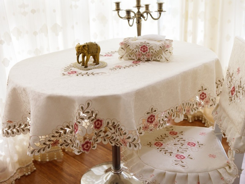 Oval Dining Table Cloth