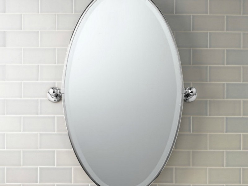 Oval Mirror Bathroom