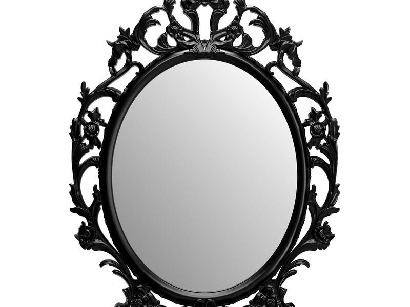 Oval Mirror Frames