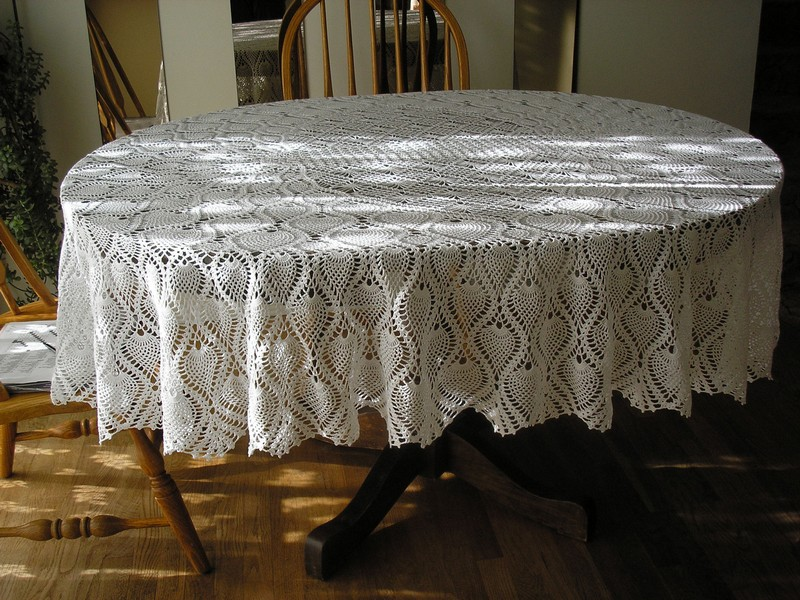 Oval Table Cloth
