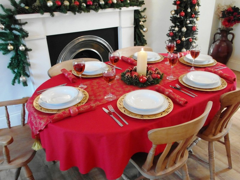 Oval Tablecloths Uk