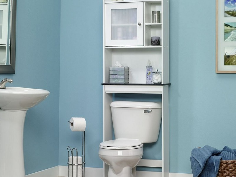 Over Toilet Etagere White