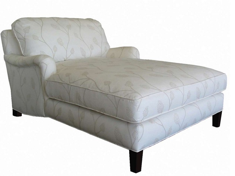 Oversized Chaise Lounge With Arms