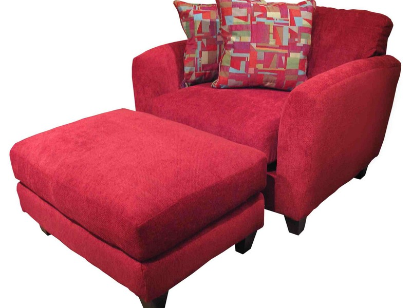 Overstuffed Chair And Ottoman Covers