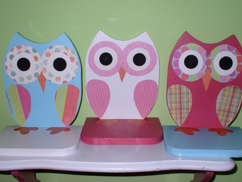 Owl Bathroom Decor Sets