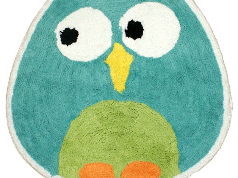 Owl Bathroom Rug