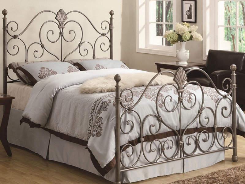 Padded Headboard King Size Bed