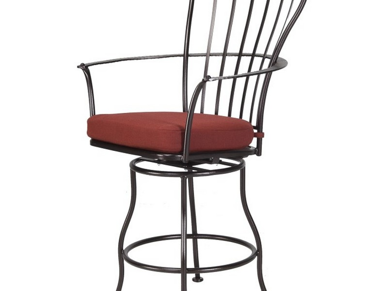 Padded High Back Bar Stools