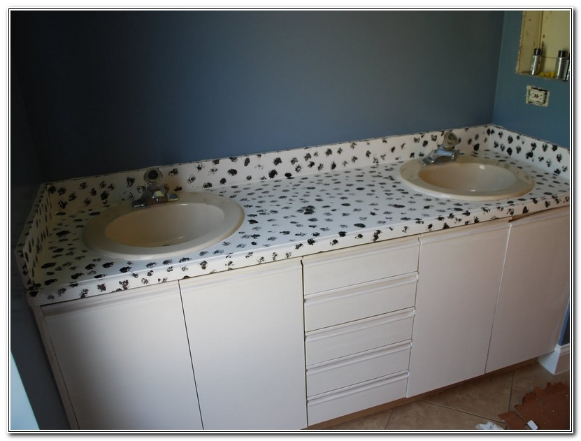 Paint Bathroom Countertops To Look Like Granite
