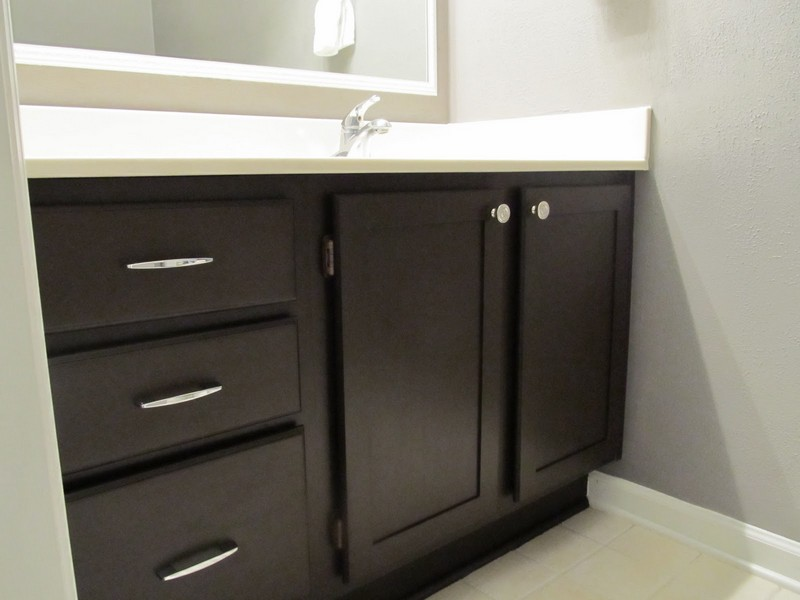 Painting Bathroom Cabinets Diy