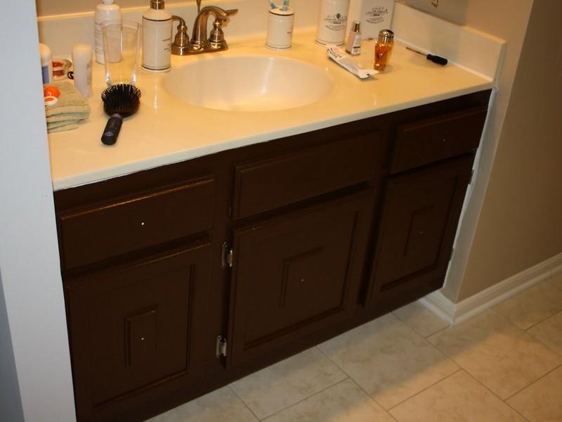 Painting Bathroom Cabinets Ideas