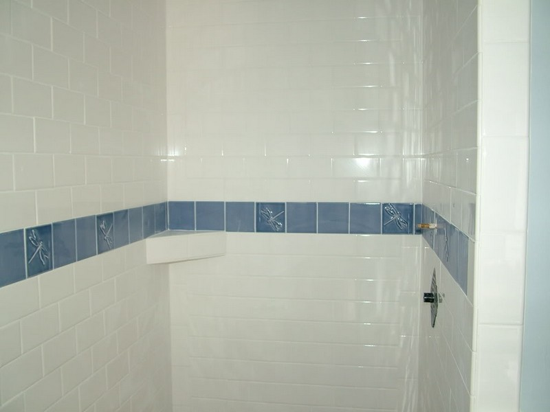 Painting Bathroom Tiles White
