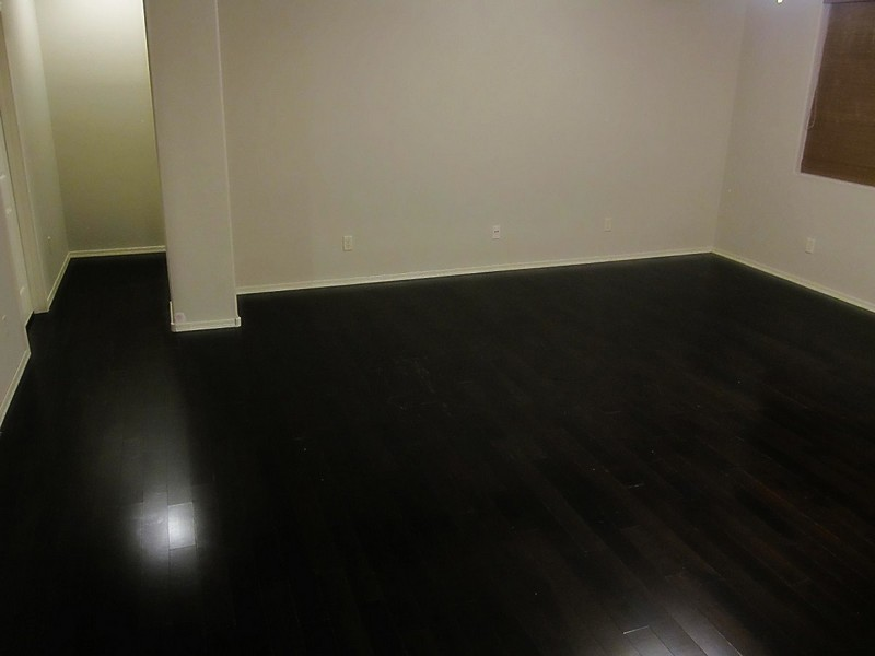 Painting Hardwood Floors Black