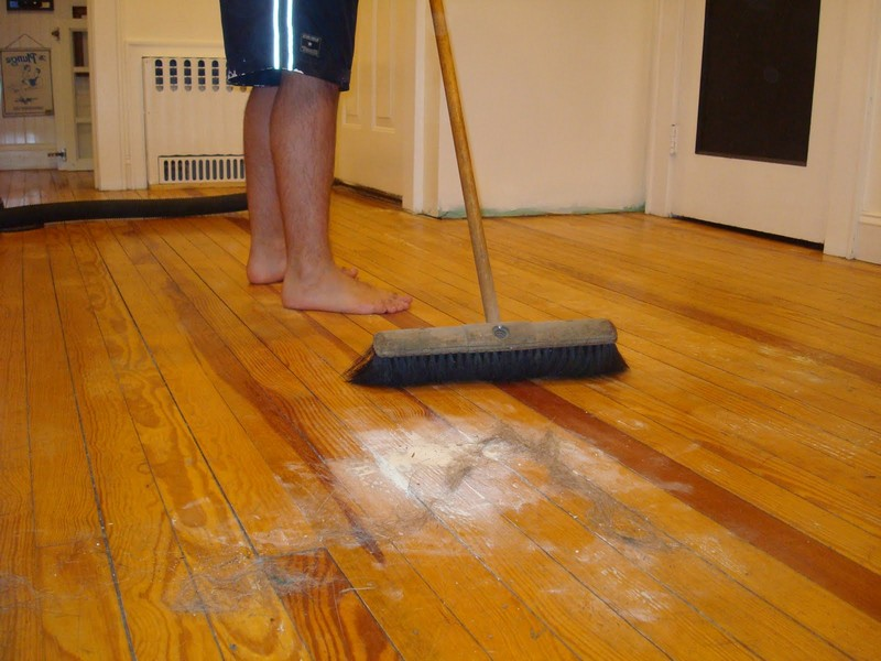 Painting Hardwood Floors Without Sanding