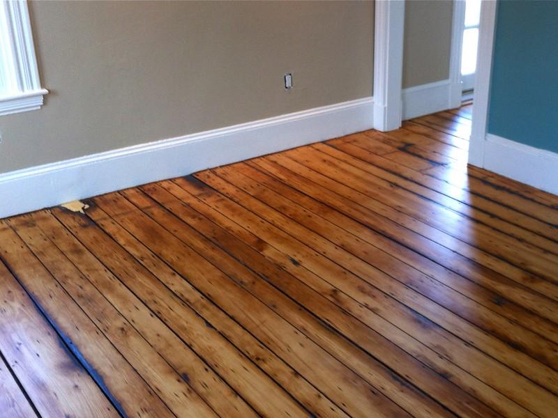 Painting Old Hardwood Floors