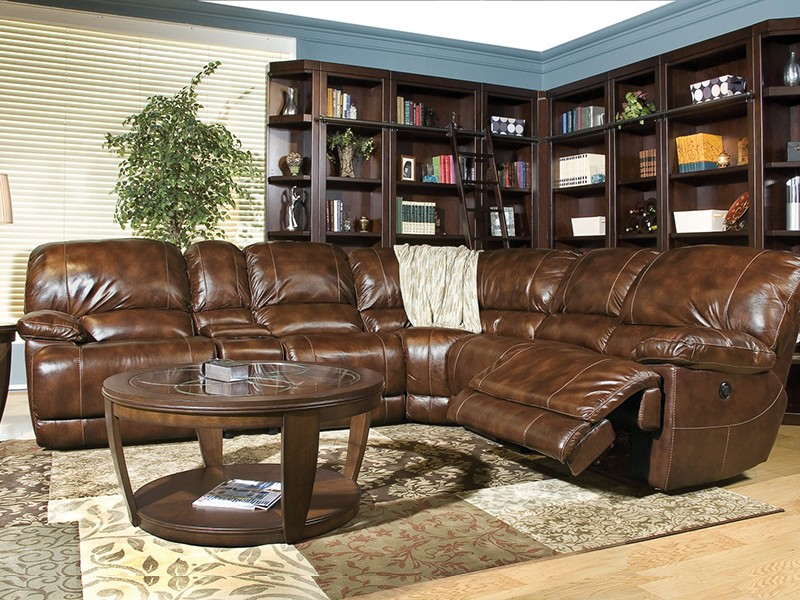 Parker Living Furniture Socrates Power Reclining Sectional