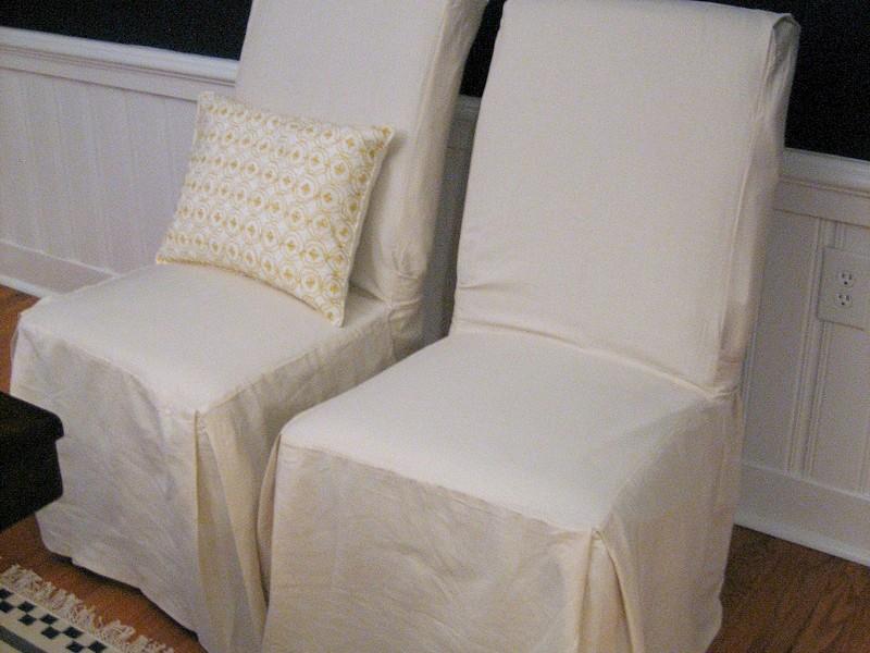 Parson Chair Slipcovers Diy