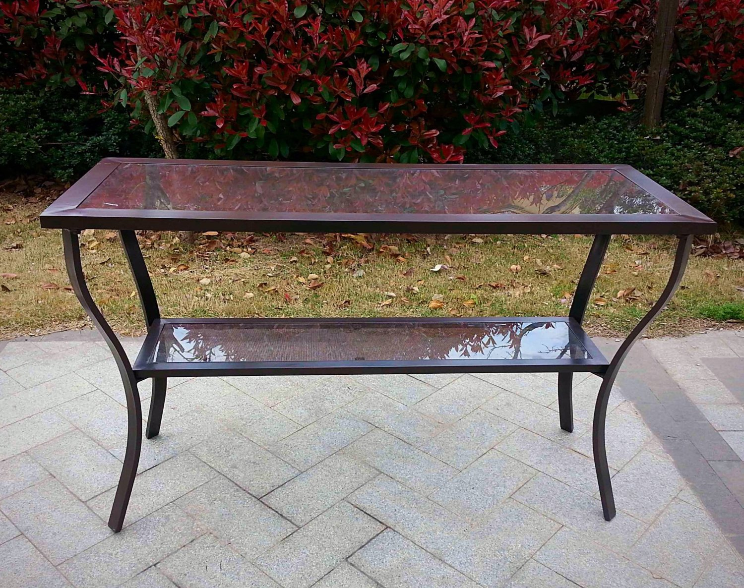 Patio Console Table Outdoor