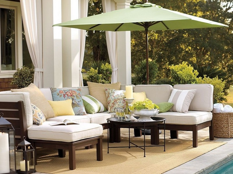 Patio Loveseat Cushions