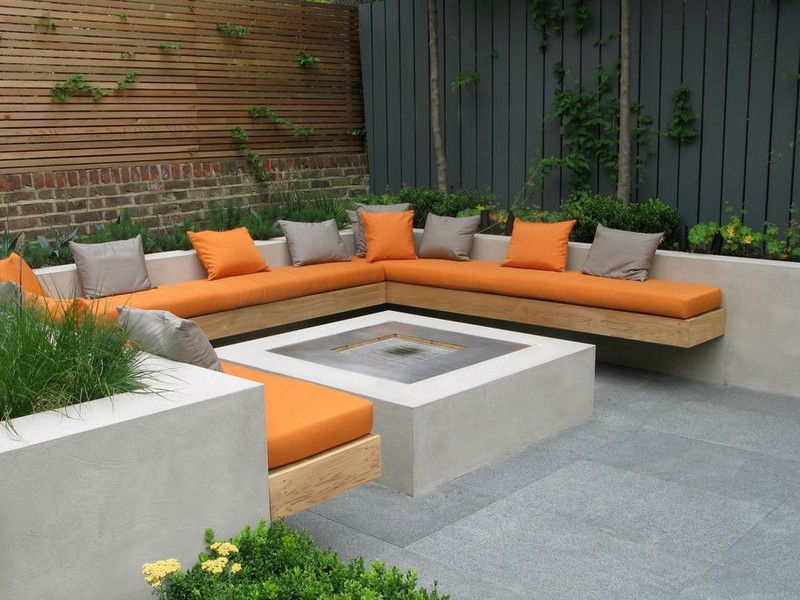 Patio Walls Planter Box Ideas