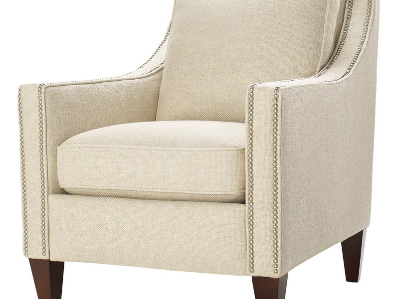 Patterned Accent Chairs With Arms