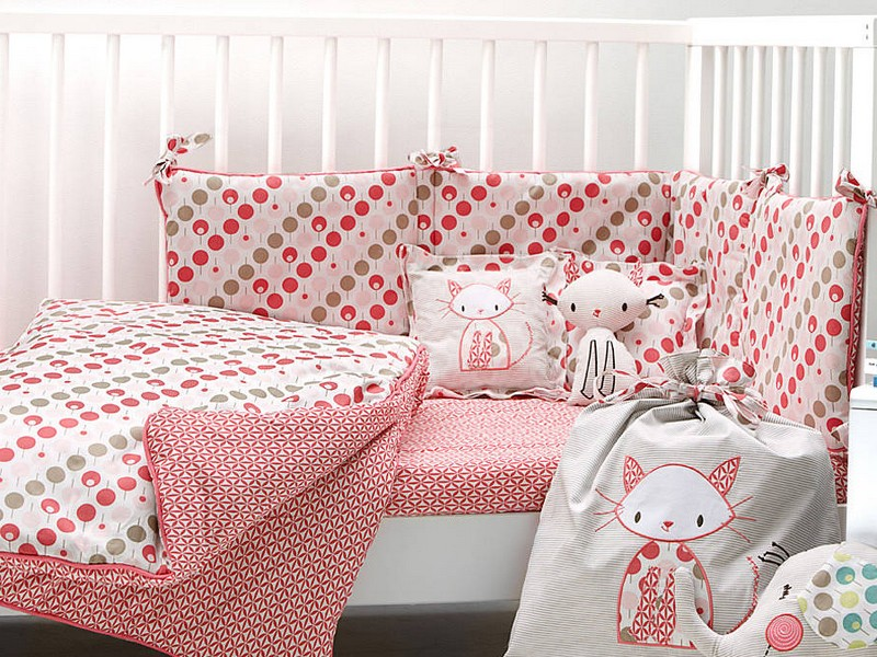 Patterned Cot Bed Sheets