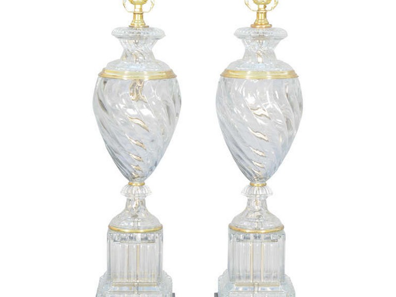 Paul Hanson Glass Lamps