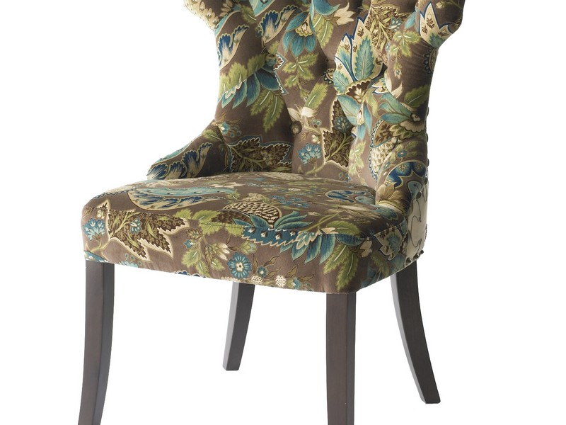 Peacock Accent Chair