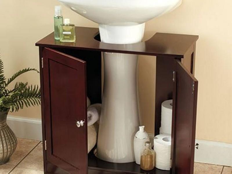 Pedestal Sink Cabinet