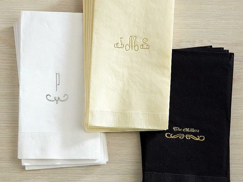 Personalized Guest Towels Napkins
