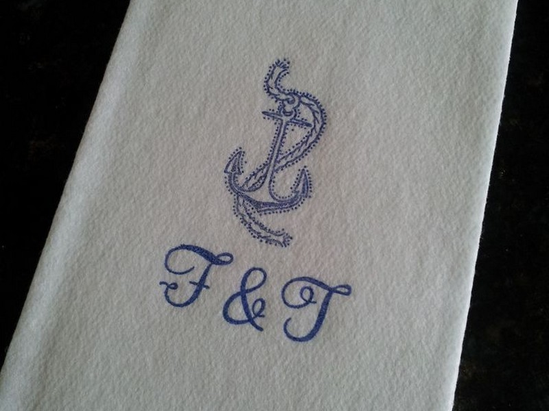 Personalized Guest Towels Wedding