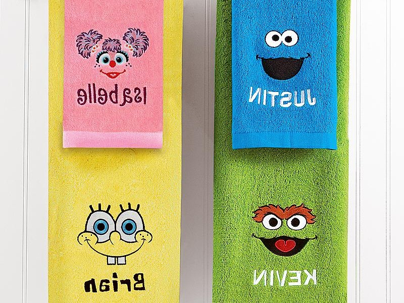 Personalized Hand Towels For Kids