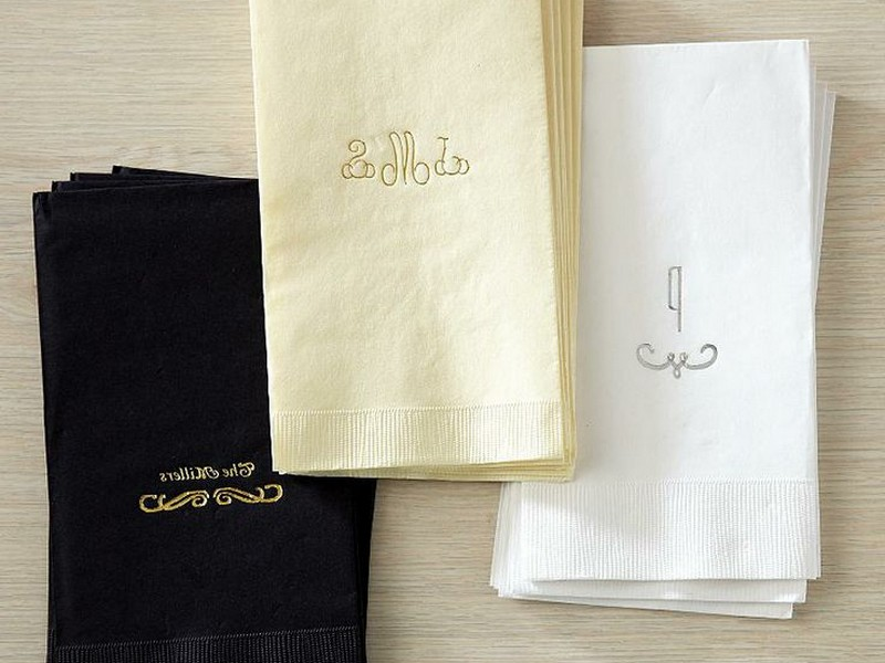 Personalized Hand Towels Wedding