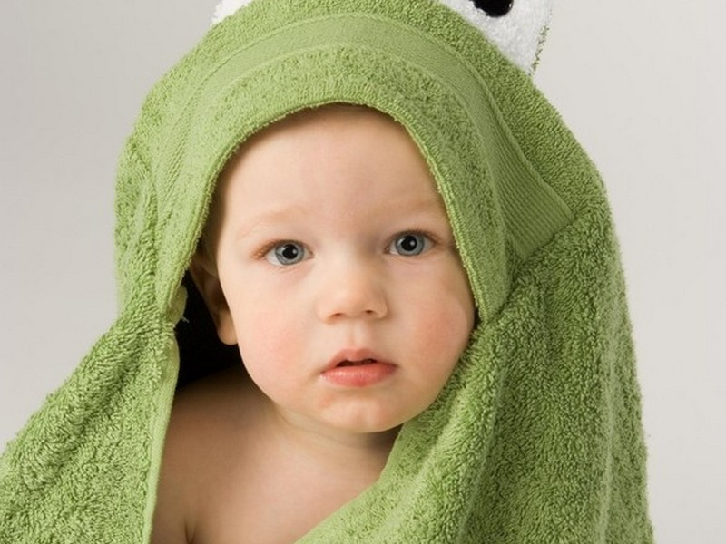 Personalized Hooded Bath Towels