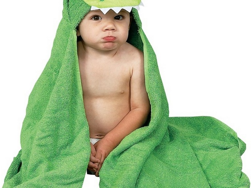 Personalized Hooded Towels For Children