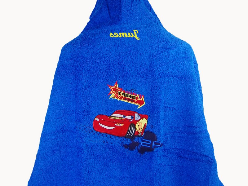 Personalized Hooded Towels For Kids