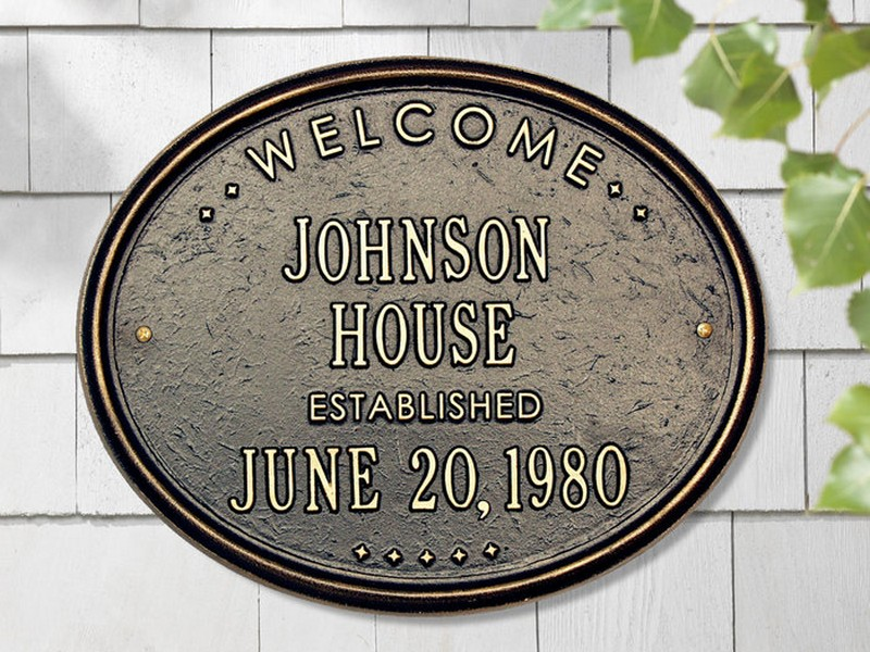 Personalized House Plaques
