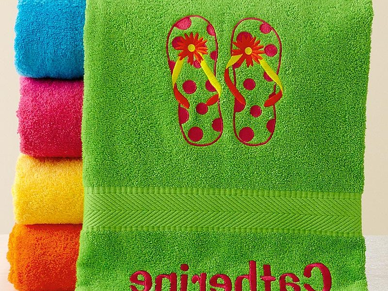 Personalized Kids Towels Canada