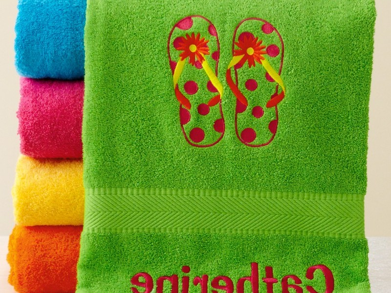 Personalized Kids Towels