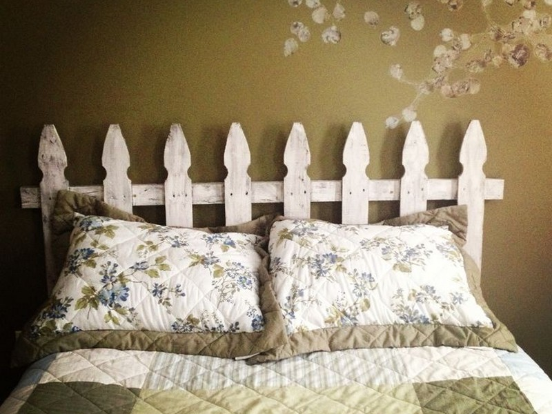 Picket Fence Headboard Diy