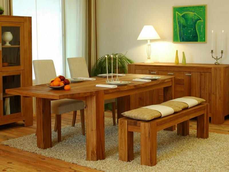 Picnic Bench Style Dining Tables