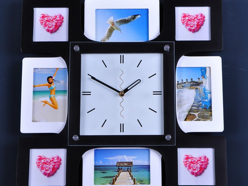 Picture Frame Wall Clock