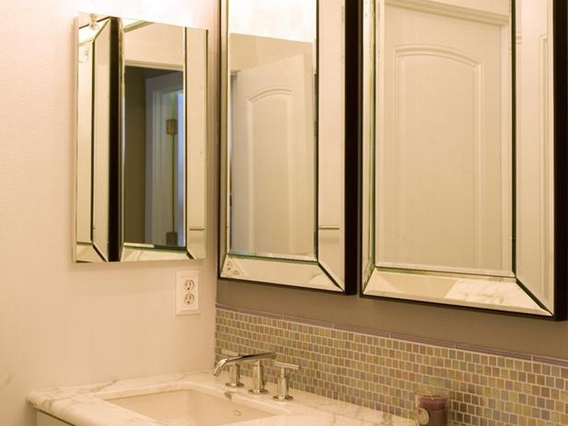 Pictures Of Bathroom Vanities And Mirrors