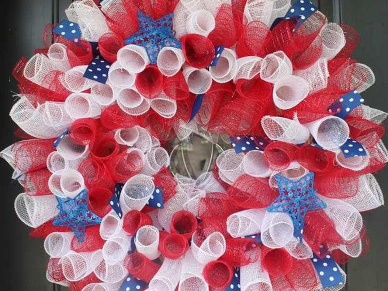 Pictures Of Geo Mesh Wreaths