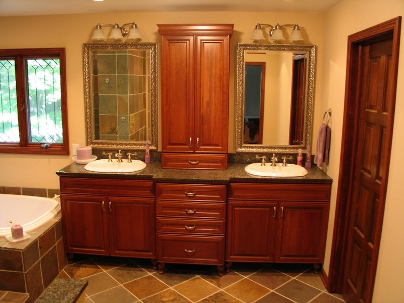 Pictures Of Master Bathroom Vanities