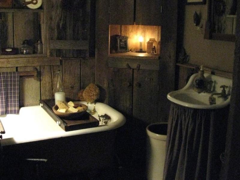 Pictures Of Primitive Bathrooms