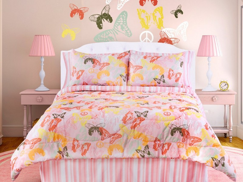Pink And White Queen Sheets