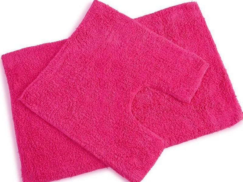 Pink Bath Rug