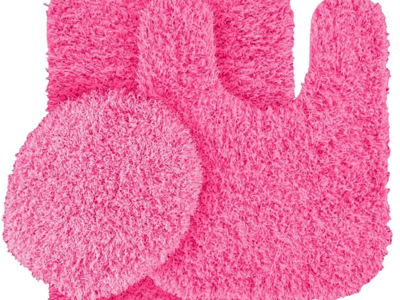 Pink Bath Rugs