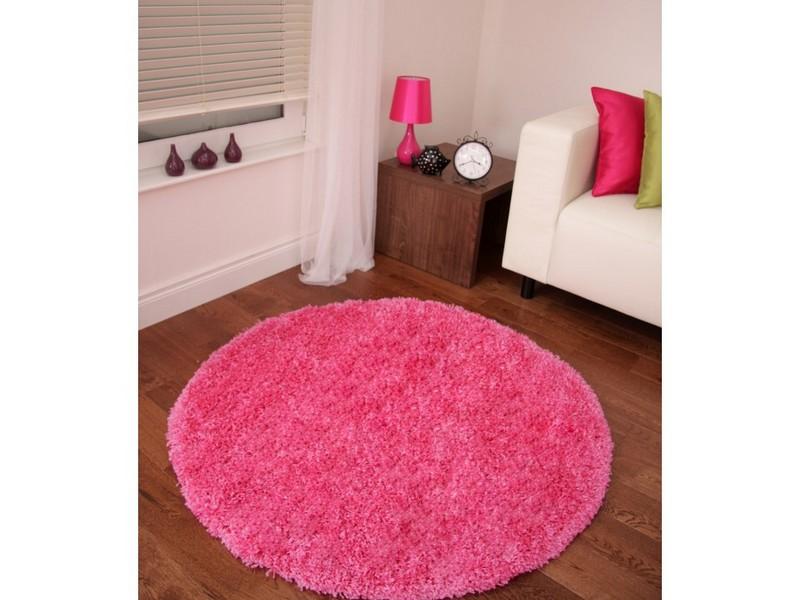 Pink Braided Rug